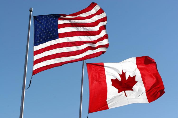 Le Canada ou les Etats-Unis.